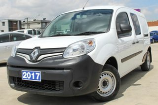 2017 Renault Kangoo F61 Phase II Maxi LWB White 6 Speed Manual Van.