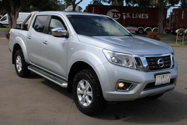 Used Nissan Navara NP300 D23 ST (4x4) West Footscray, 2016 Nissan Navara NP300 D23 ST (4x4) Silver 6 Speed Manual Dual Cab Utility