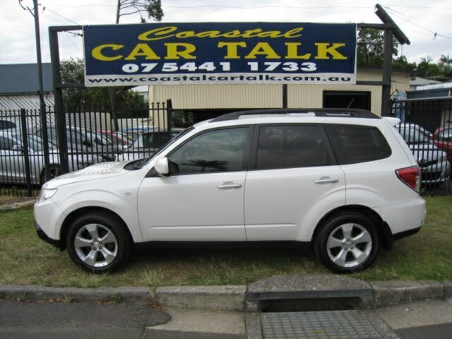 Used Subaru Forester MY09 XT, 2009 Subaru Forester MY09 XT White 4 Speed Auto Elec Sportshift Wagon