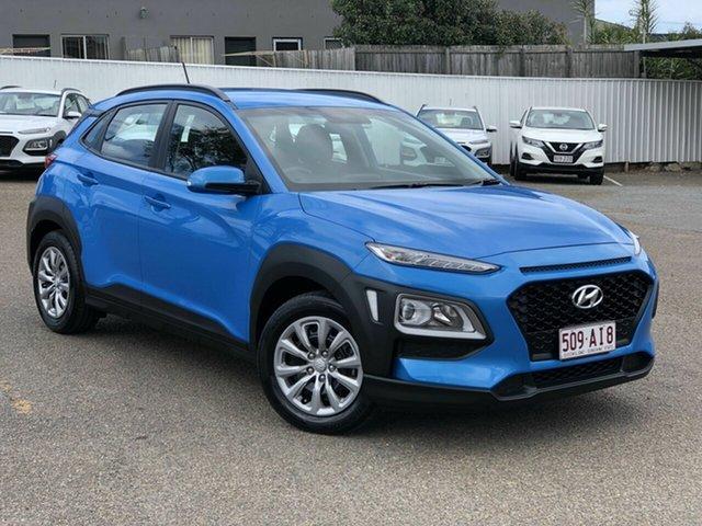 Used Hyundai Kona OS.2 MY19 Go 2WD, 2019 Hyundai Kona OS.2 MY19 Go 2WD Blue 6 Speed Sports Automatic Wagon