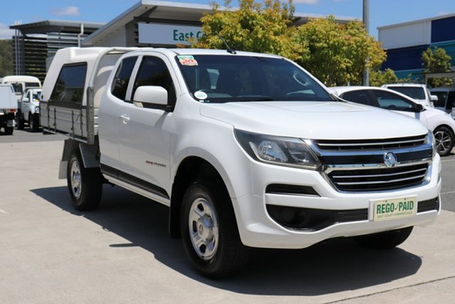 Used Holden Colorado RG MY16 LS Space Cab Robina, 2017 Holden Colorado RG MY16 LS Space Cab White 6 speed Automatic Cab Chassis