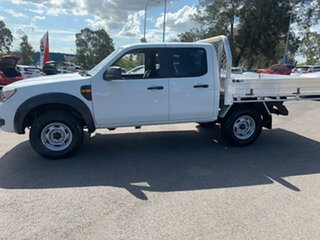 2009 Ford Ranger PK XL Crew Cab 4x2 Hi-Rider White 5 Speed Manual Double Cab Pick Up