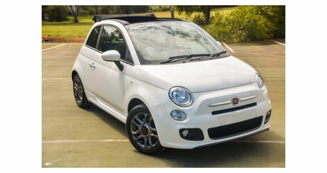 Used Fiat 500 Series 3 S Dualogic, 2015 Fiat 500 Series 3 S Dualogic White 5 Speed Sports Automatic Single Clutch Hatchback