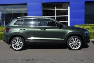 2021 Skoda Karoq NU MY21 110TSI FWD Emerald 8 Speed Automatic Wagon
