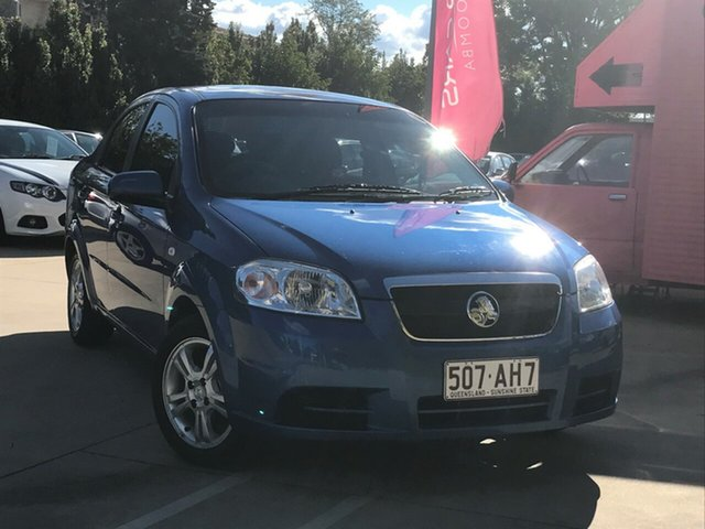 Used Holden Barina TK MY10 , 2010 Holden Barina TK MY10 Blue 5 Speed Manual Sedan