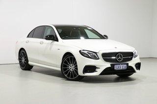 2017 Mercedes-Benz E-Class W213 808MY E43 AMG 9G-Tronic PLUS 4MATIC Diamond White 9 Speed.