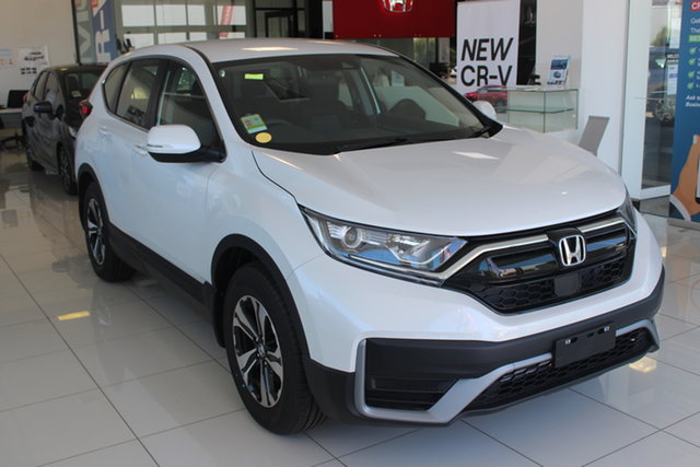 New Honda CR-V RW MY21 VTi FWD, 2020 Honda CR-V RW MY21 VTi FWD Platinum White 1 Speed Constant Variable Wagon
