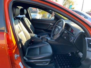 2007 Holden Commodore VE SV6 Orange 5 Speed Sports Automatic Sedan