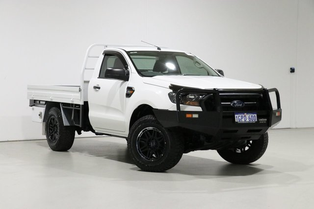 Used Ford Ranger PX MkII MY18 XL 3.2 (4x4), 2018 Ford Ranger PX MkII MY18 XL 3.2 (4x4) White 6 Speed Manual Cab Chassis