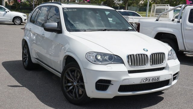 Used BMW X5 E70 MY12.5 M50d Steptronic Phillip, 2012 BMW X5 E70 MY12.5 M50d Steptronic White 8 Speed Sports Automatic Wagon