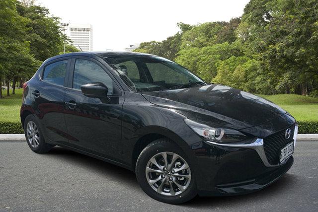 Demo Mazda 2 DJ2HAA G15 SKYACTIV-Drive Pure, 2020 Mazda 2 DJ2HAA G15 SKYACTIV-Drive Pure Jet Black 6 Speed Sports Automatic Hatchback