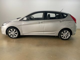 2017 Hyundai Accent RB5 Sport Silver 6 Speed Automatic Hatchback
