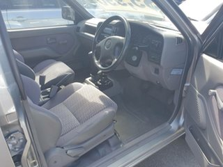 1998 Holden Rodeo TF R7 LX Crew Cab Silver 5 Speed Manual Utility