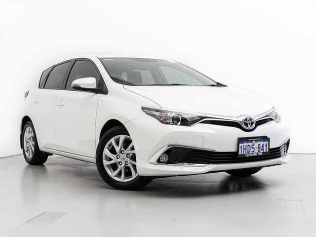 Used Toyota Corolla ZRE182R MY17 Ascent Sport, 2017 Toyota Corolla ZRE182R MY17 Ascent Sport White 7 Speed CVT Auto Sequential Hatchback