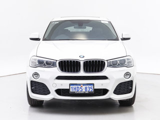 2015 BMW X4 F26 MY15 xDrive 20D White 8 Speed Automatic Coupe.