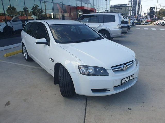 Used Holden Commodore VE MY10 International Sportwagon Liverpool, 2010 Holden Commodore VE MY10 International Sportwagon White 6 Speed Sports Automatic Wagon