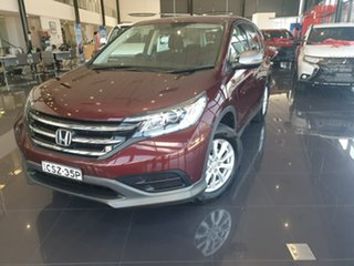 2014 Honda CR-V RM MY15 VTi Red 5 Speed Automatic Wagon