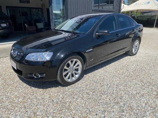 Used Holden Commodore VE II International, 2011 Holden Commodore VE II International Black 6 Speed Automatic Sedan