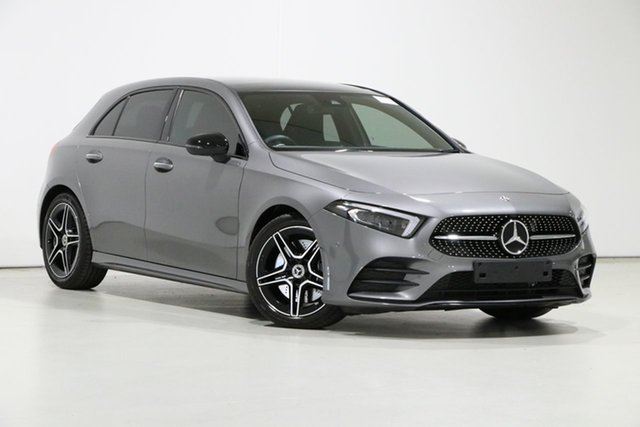 Used Mercedes-Benz A250 177 MY19 4Matic AMG Line, 2018 Mercedes-Benz A250 177 MY19 4Matic AMG Line Silver 7 Speed Auto Dual Clutch Hatchback
