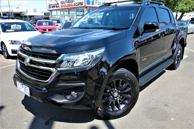Used Holden Colorado RG MY18 Z71 Pickup Crew Cab Seaford, 2017 Holden Colorado RG MY18 Z71 Pickup Crew Cab Black 6 Speed Sports Automatic Utility