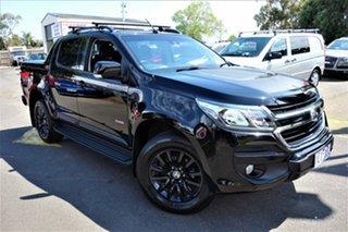 2017 Holden Colorado RG MY18 Z71 Pickup Crew Cab Black 6 Speed Sports Automatic Utility.