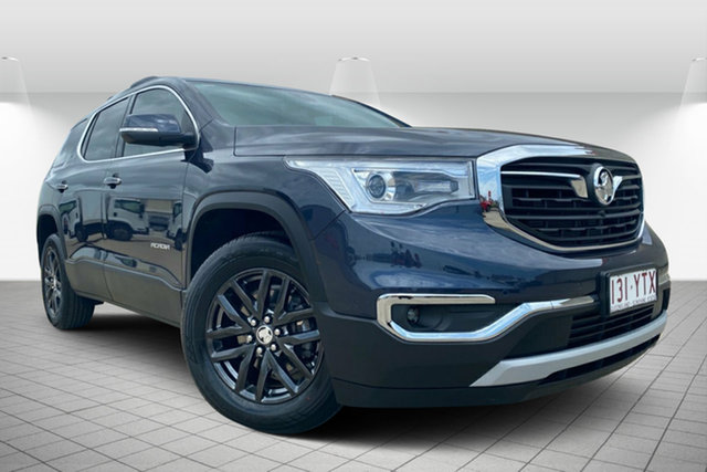 Used Holden Acadia AC MY19 LTZ AWD, 2019 Holden Acadia AC MY19 LTZ AWD Blue Steel 9 Speed Sports Automatic Wagon