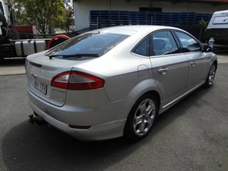 2009 Ford Mondeo MB Titanium Silver 6 Speed Automatic Hatchback.