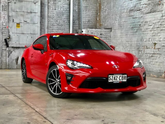 Used Toyota 86 ZN6 GTS Mile End South, 2017 Toyota 86 ZN6 GTS Red/Black 6 Speed Sports Automatic Coupe