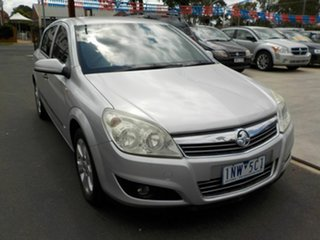 2008 Holden Astra AH MY08.5 60th Anniversary Silver 5 Speed Manual Hatchback.