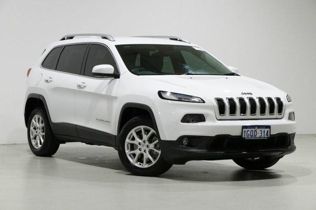 Used Jeep Cherokee KL MY18 Longitude (4x4), 2018 Jeep Cherokee KL MY18 Longitude (4x4) White 9 Speed Automatic Wagon