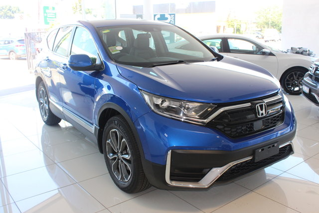 New Honda CR-V RW MY21 VTi 4WD L AWD, 2020 Honda CR-V RW MY21 VTi 4WD L AWD Brilliant Sporty Blue 1 Speed Constant Variable Wagon