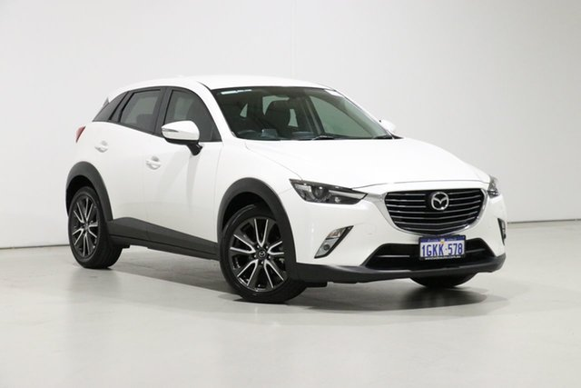 Used Mazda CX-3 DK S Touring (FWD), 2016 Mazda CX-3 DK S Touring (FWD) White 6 Speed Manual Wagon