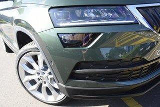 2021 Skoda Karoq NU MY21 110TSI FWD Emerald 8 Speed Automatic Wagon.