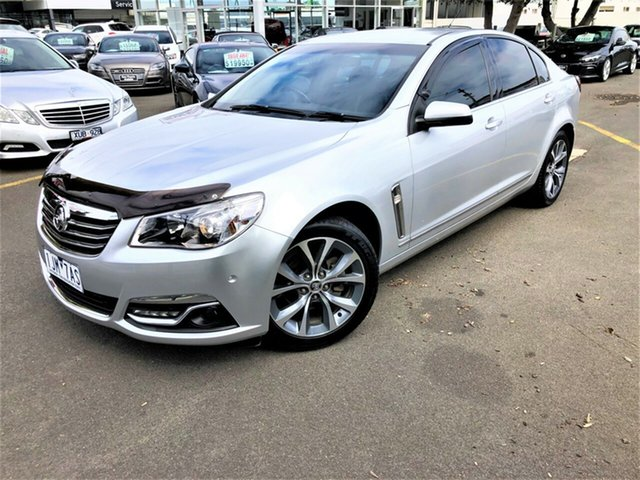 Used Holden Calais VF MY15 Seaford, 2015 Holden Calais VF MY15 Silver 6 Speed Sports Automatic Sedan