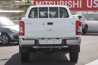 2019 Mitsubishi Triton MR MY19 GLX Double Cab White 6 Speed Manual Utility