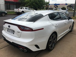 2018 Kia Stinger CK GT White Sports Automatic