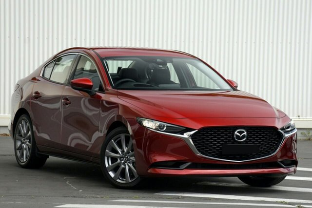 New Mazda 3 BP2SLA G25 SKYACTIV-Drive GT Hillcrest, 2020 Mazda 3 BP2SLA G25 SKYACTIV-Drive GT Soul Red Crystal 6 Speed Sports Automatic Sedan