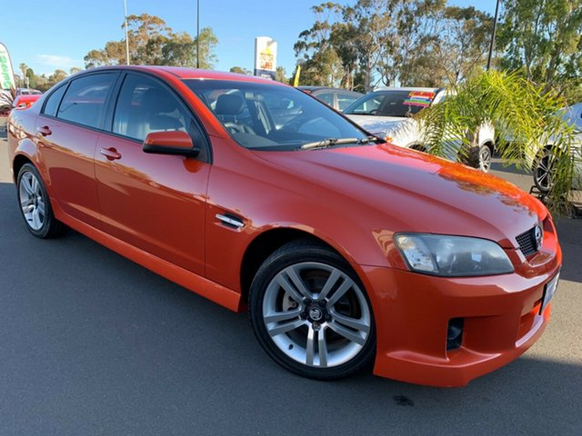 Used Holden Commodore VE SV6, 2007 Holden Commodore VE SV6 Orange 5 Speed Sports Automatic Sedan