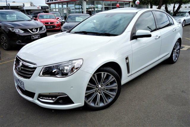 Used Holden Calais VF MY14 , 2013 Holden Calais VF MY14 White 6 Speed Sports Automatic Sedan