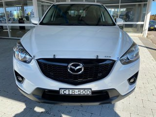 2012 Mazda CX-5 Grand Touring Crystal White Pearl Sports Automatic Wagon.