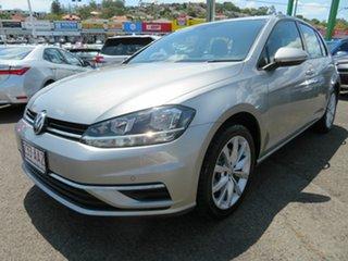 2018 Volkswagen Golf 7.5 MY19 110TSI DSG Comfortline Silver 7 Speed Sports Automatic Dual Clutch.