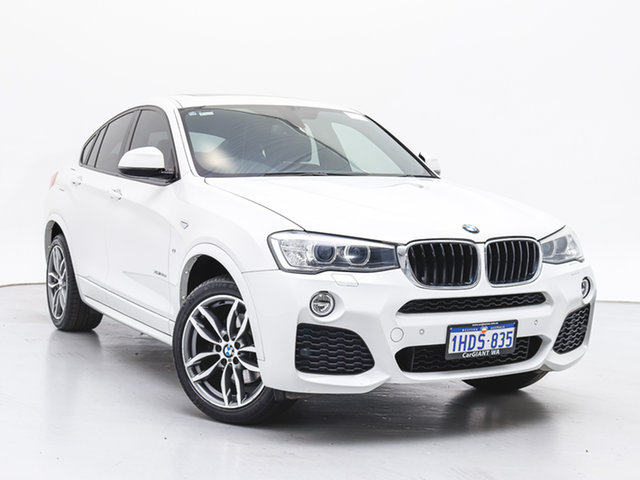 Used BMW X4 F26 MY15 xDrive 20D, 2015 BMW X4 F26 MY15 xDrive 20D White 8 Speed Automatic Coupe