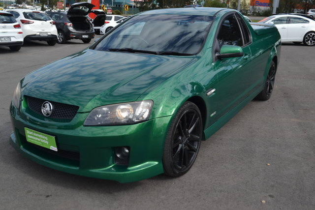 Used Holden Ute VE II SV6, 2010 Holden Ute VE II SV6 Green 6 Speed Sports Automatic Utility