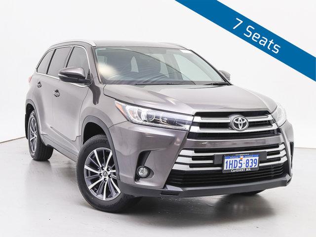 Used Toyota Kluger GSU55R GXL (4x4), 2017 Toyota Kluger GSU55R GXL (4x4) Grey 6 Speed Automatic Wagon