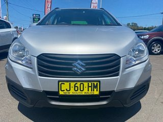 2014 Suzuki S-Cross JY GL Silver 5 Speed Manual Hatchback.