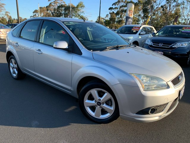 Used Ford Focus LT LX Bunbury, 2008 Ford Focus LT LX Silver 5 Speed Manual Hatchback