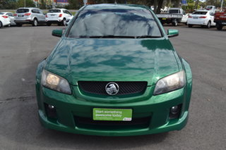 2010 Holden Ute VE II SV6 Green 6 Speed Sports Automatic Utility.