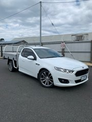2015 Ford Falcon FG X XR6 Ute Super Cab White 6 Speed Sports Automatic Utility.