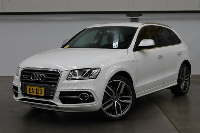 Used Audi SQ5 8R MY15 3.0 TDI Quattro Castle Hill, 2015 Audi SQ5 8R MY15 3.0 TDI Quattro White 8 Speed Automatic Wagon
