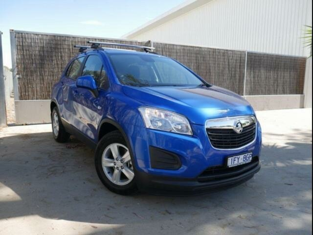 Used Holden Trax TJ MY16 LS, 2016 Holden Trax TJ MY16 LS Blue 6 Speed Automatic Wagon